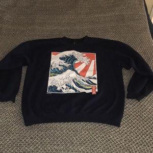 Trendy crew sweatshirt